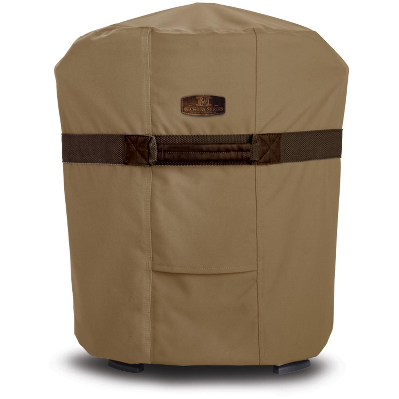 Classic Accessories Hickory Round Fryer/Smoker/Grill Cover - Hickory/Ant. Oak/Mahogany - Small