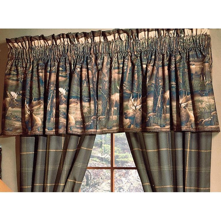Blue Ridge Trading Window Valance - Moose Mountain