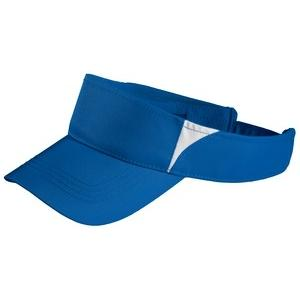Sport-tek Dry Zone Colorblock Visor - True Royal/White at Sears.com