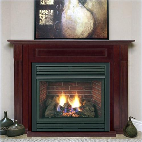Monessen BDV300NSC7 33-Inch Natural Gas Direct Vent Fireplace System With Signature Command Control