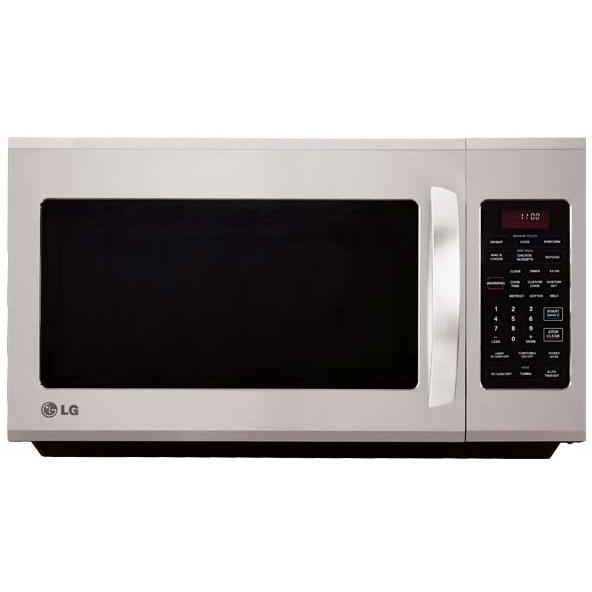 LG LMV2015ST 2.0 Cu. Ft 1100w Over The Range Microwave - Stainless Steel