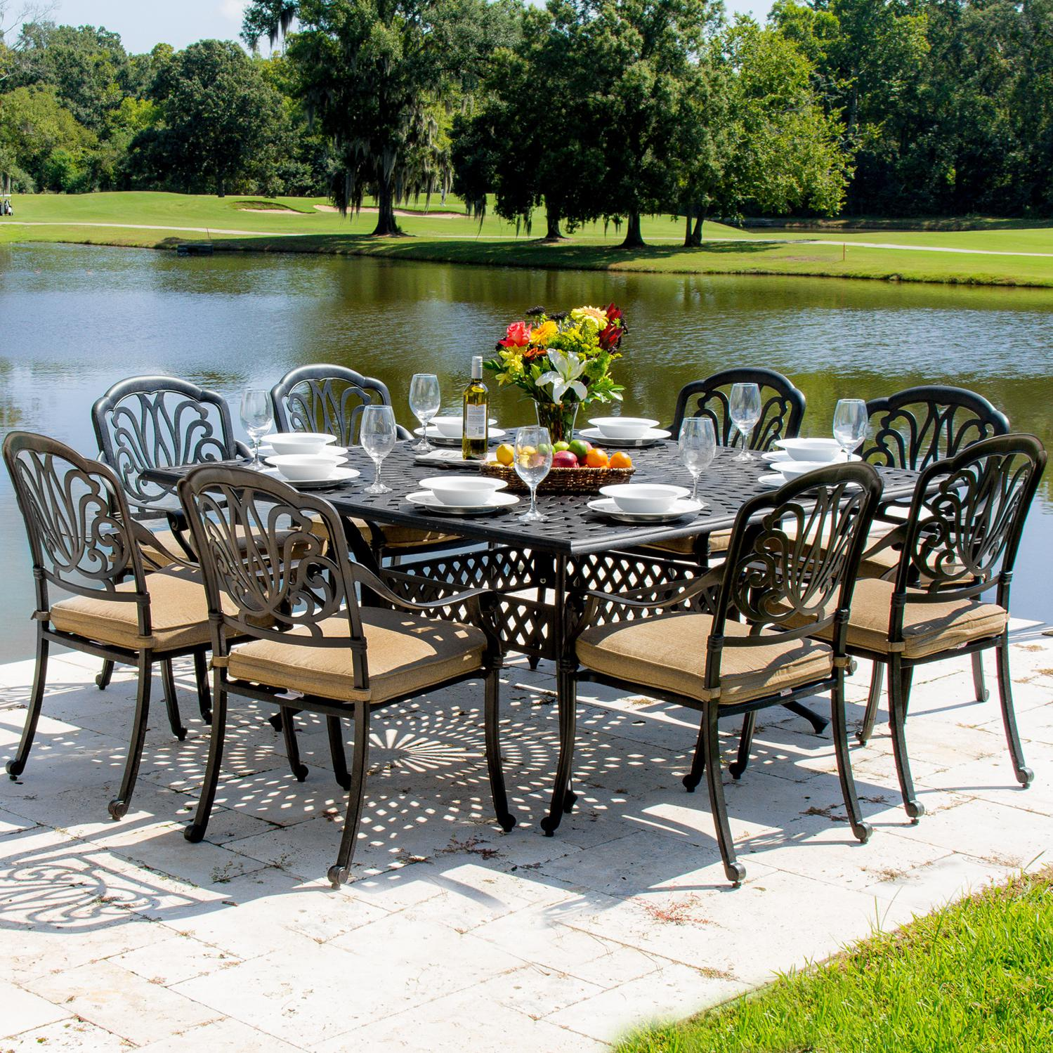 30 model patio dining sets on clearance. Black Bedroom Furniture Sets. Home Design Ideas