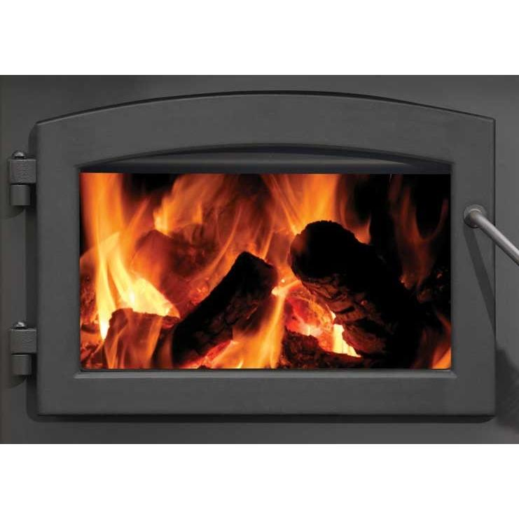 Napoleon H222 Standard Arch Cast Iron Stove Door - Black