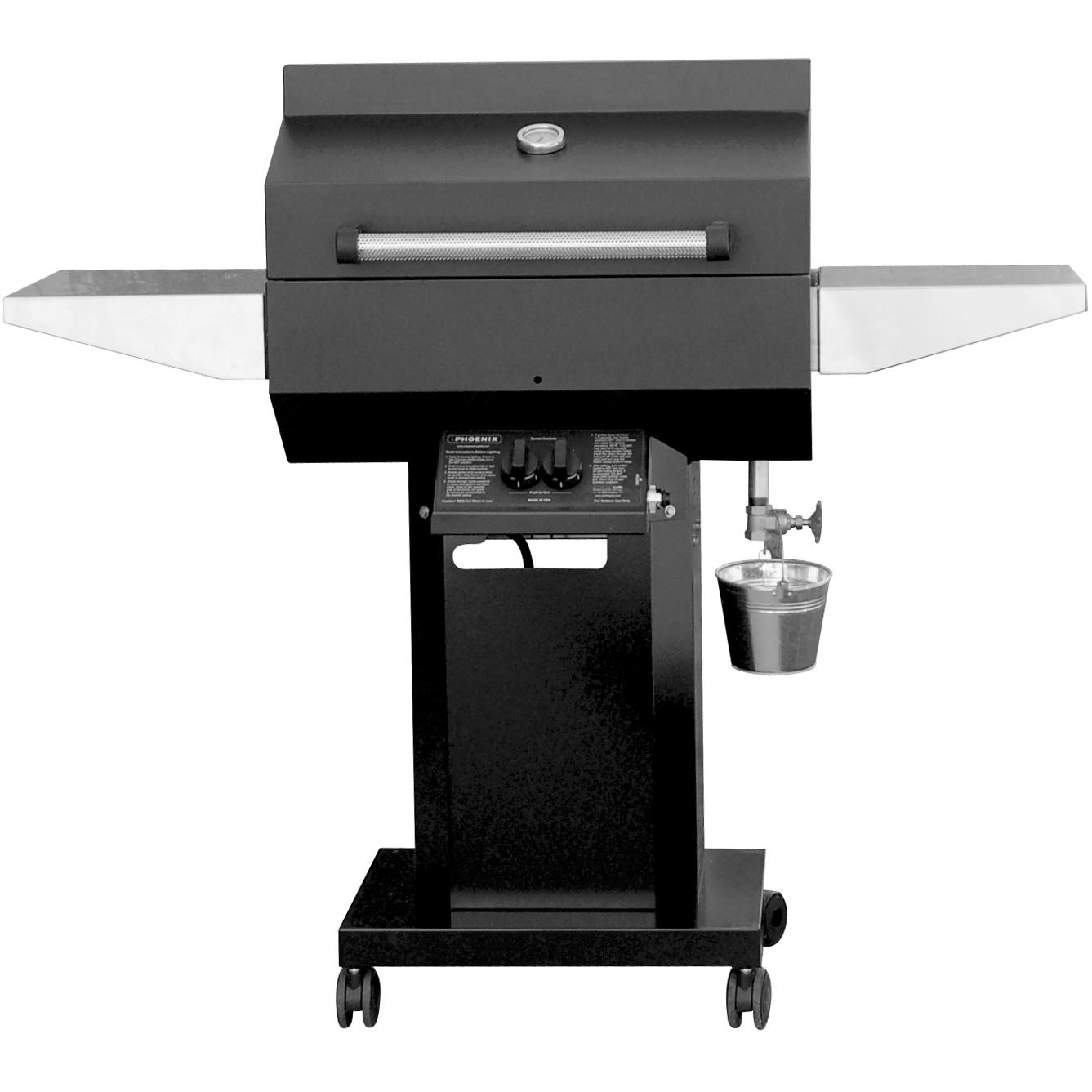 deals phoenix grill pfmg black propane gas grill head on black pedestal cart sales here price. Black Bedroom Furniture Sets. Home Design Ideas