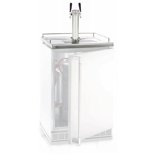 Lynx Double Tap Option For Lynx L24BF Outdoor Refrigerator / Kegerator