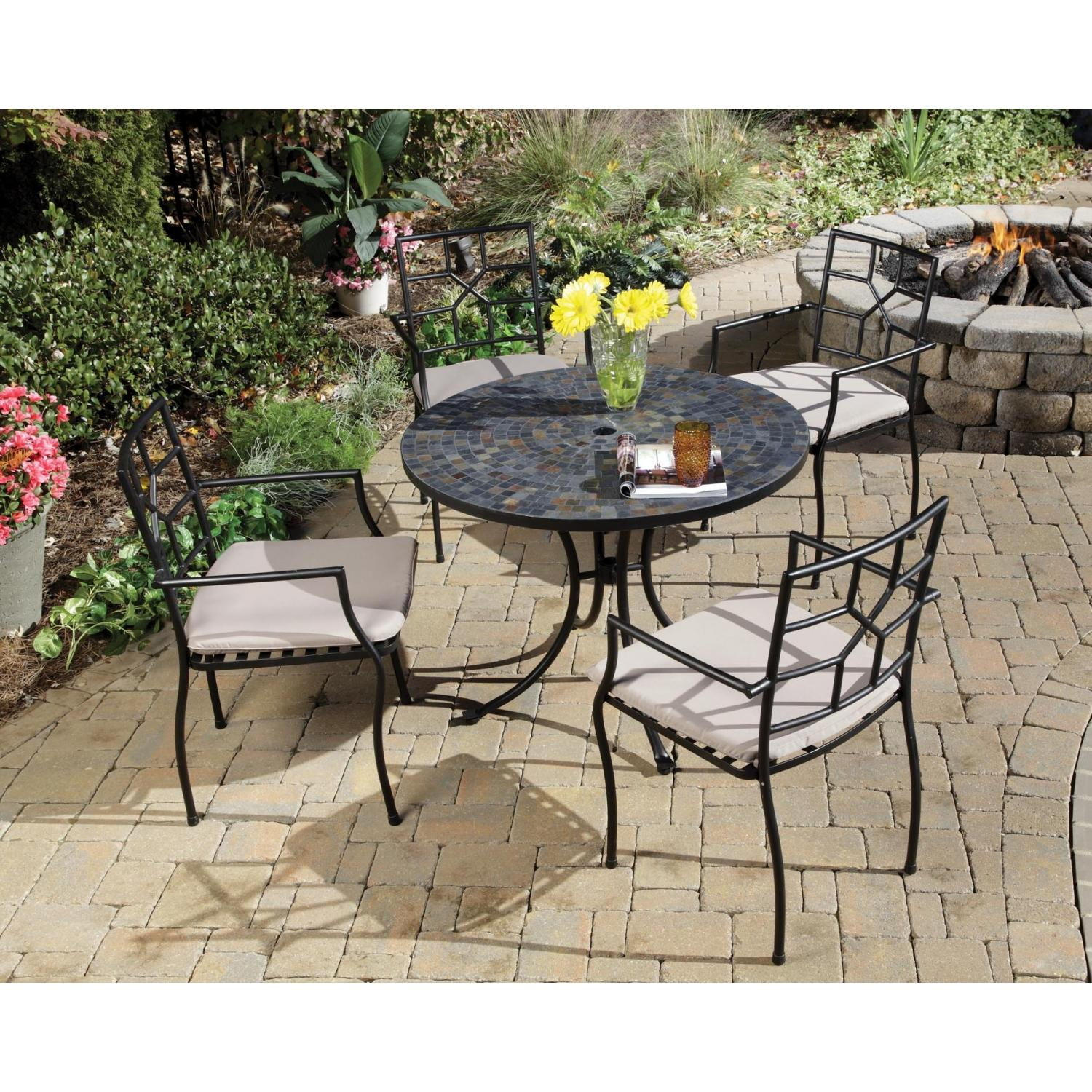 Home Styles Stone Harbor And Cambria Outdoor Patio Dining Set