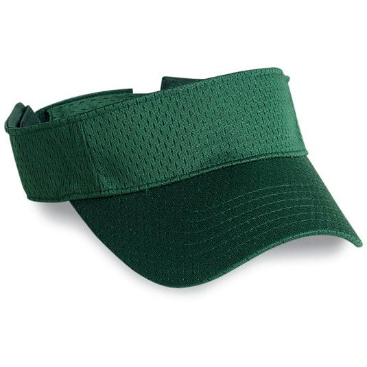 Cobra Caps Mesh Visor - Dark Green