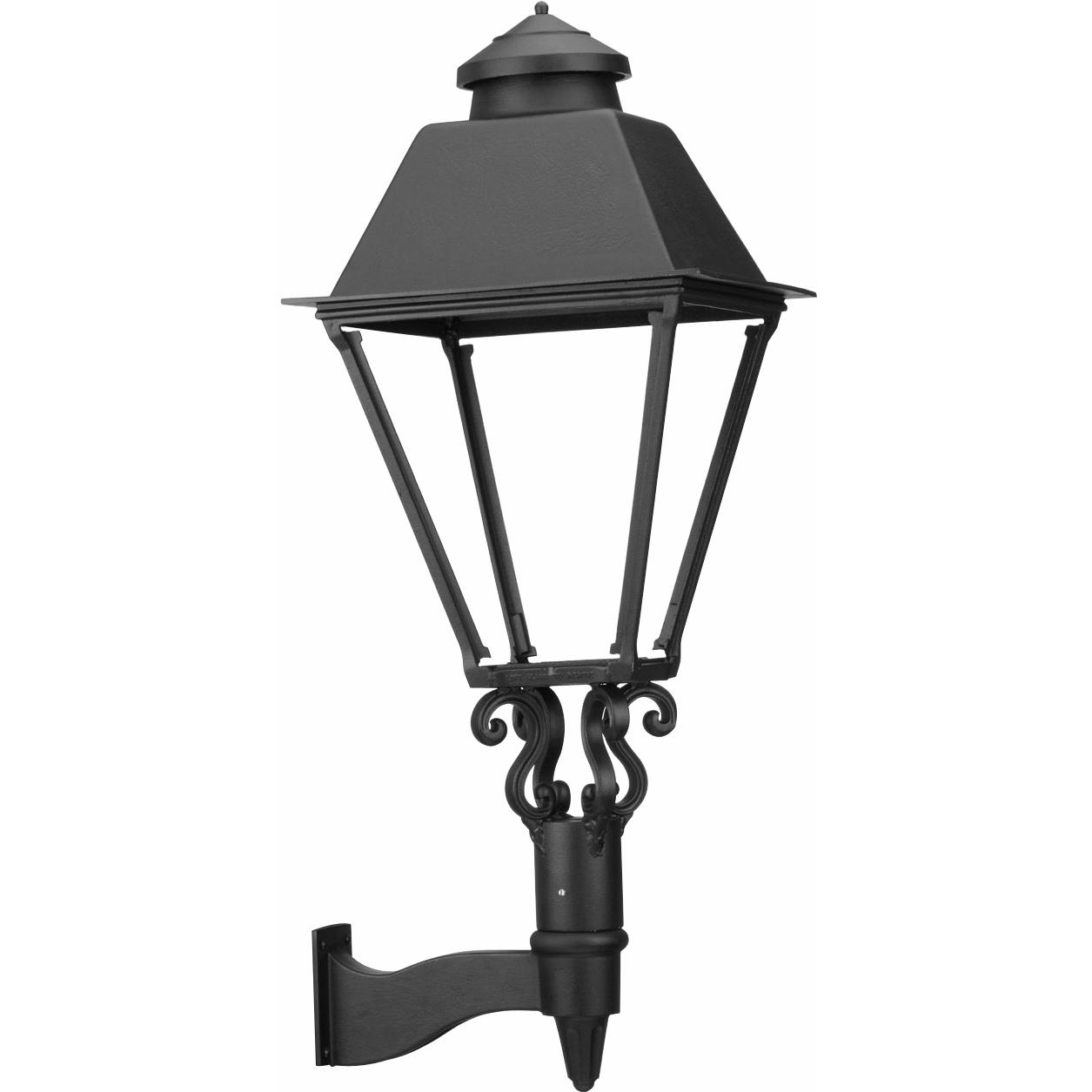 American Gas Lamp Works GL3000 Cast Aluminum Manual Ignition Propane Gas Light With Dual Mantle Burner And Standard Wall Mount