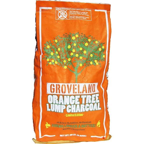 Groveland Gourmet Orange Tree Lump Charcoal