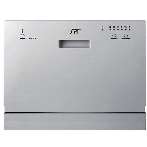 Sunpentown SD-2201S Portable Countertop Dishwasher - Silver