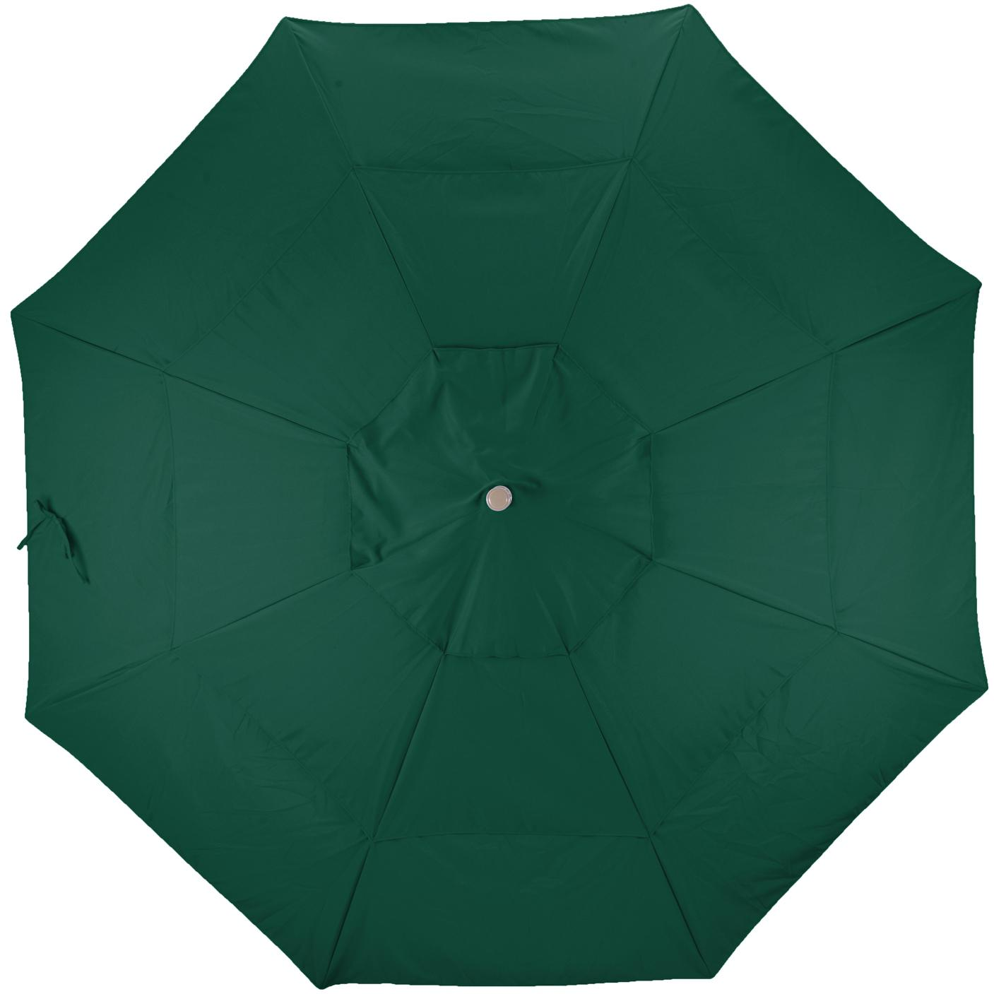 California Umbrella Sunbrella A Fabric In Forest Green 2909540