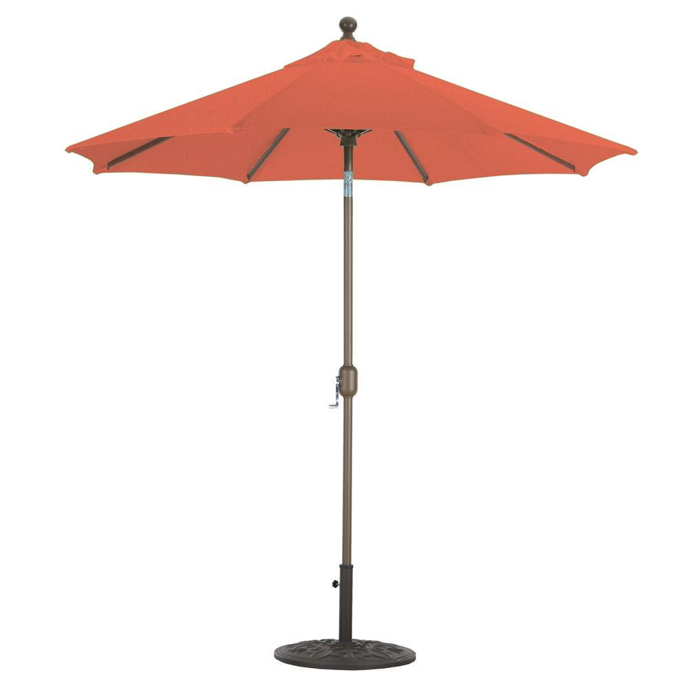 Galtech 7.5 Ft. Octagonal Aluminum Patio Market Umbrella ...