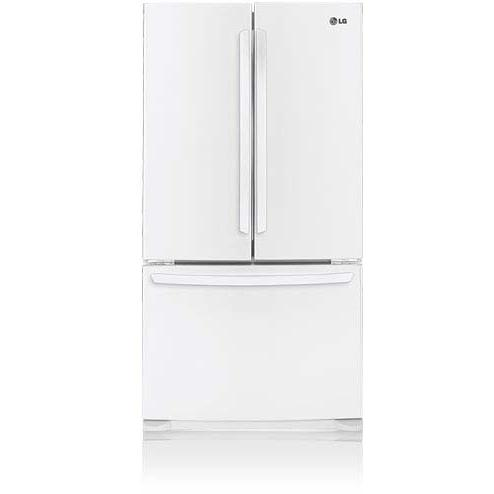 LG LFC25776SW 25 Cu. Ft. French Door Refrigerator / Freezer - White
