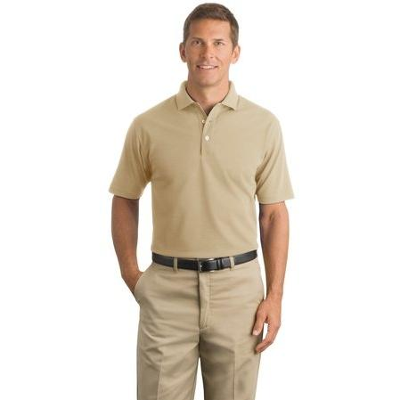 CornerStone Industrial Pique Polo 2XL - Stone