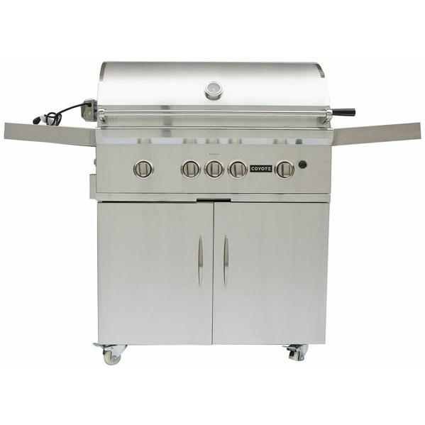 Coyote S-series 36-inch Natural Gas Grill On Cart With Led Lights at Sears.com