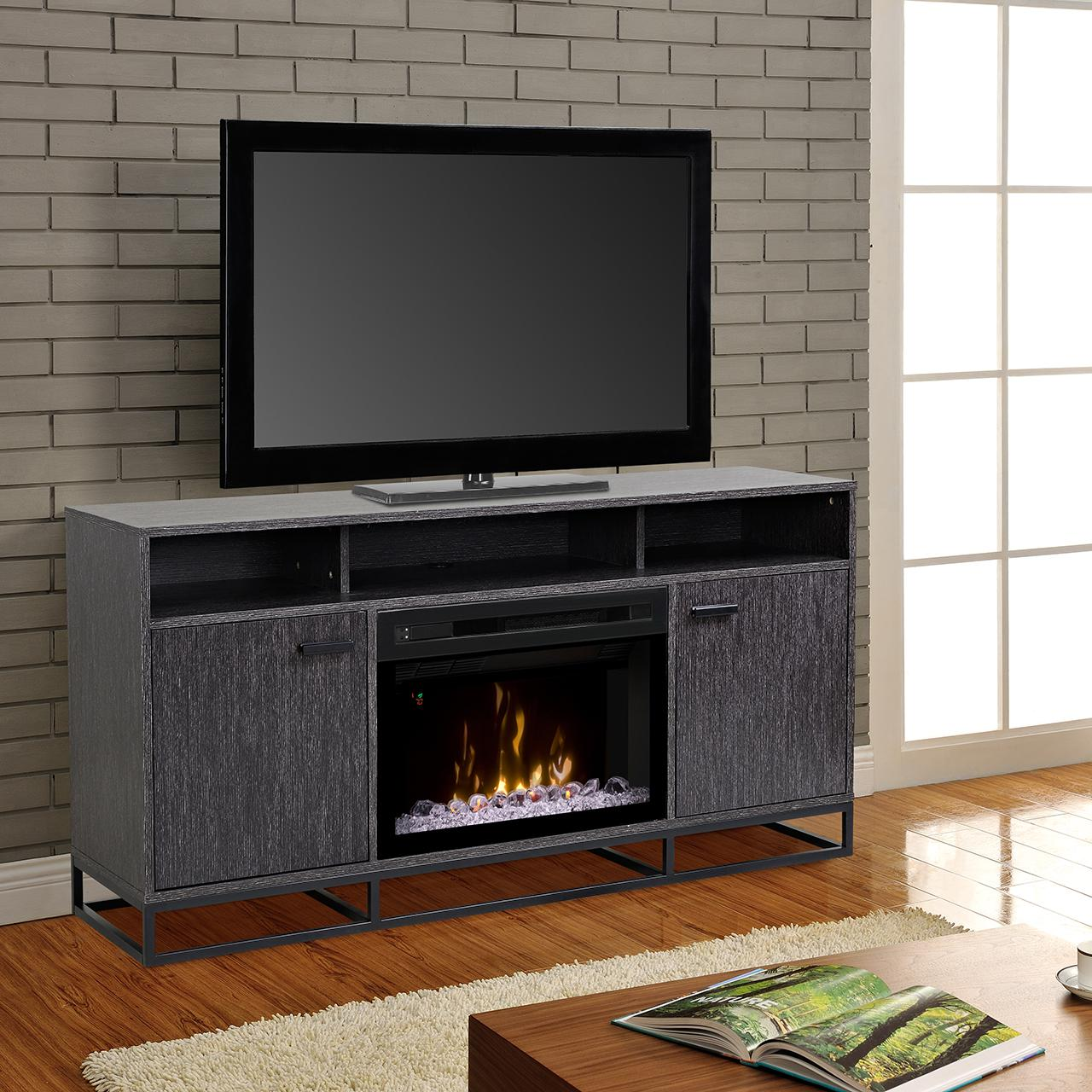 Dimplex Multi-Fire XD Reily 64-Inch Electric Fireplace Me...