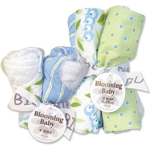 Trend Lab Bib And Burp Cloth Set - Caterpillar