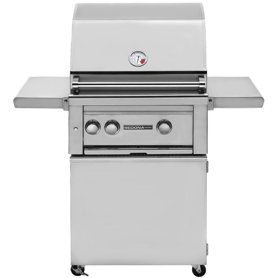 Sedona By Lynx 24-Inch Propane Gas Grill On Cart With ProSear Burner And Rotisserie L400PSR 2872246
