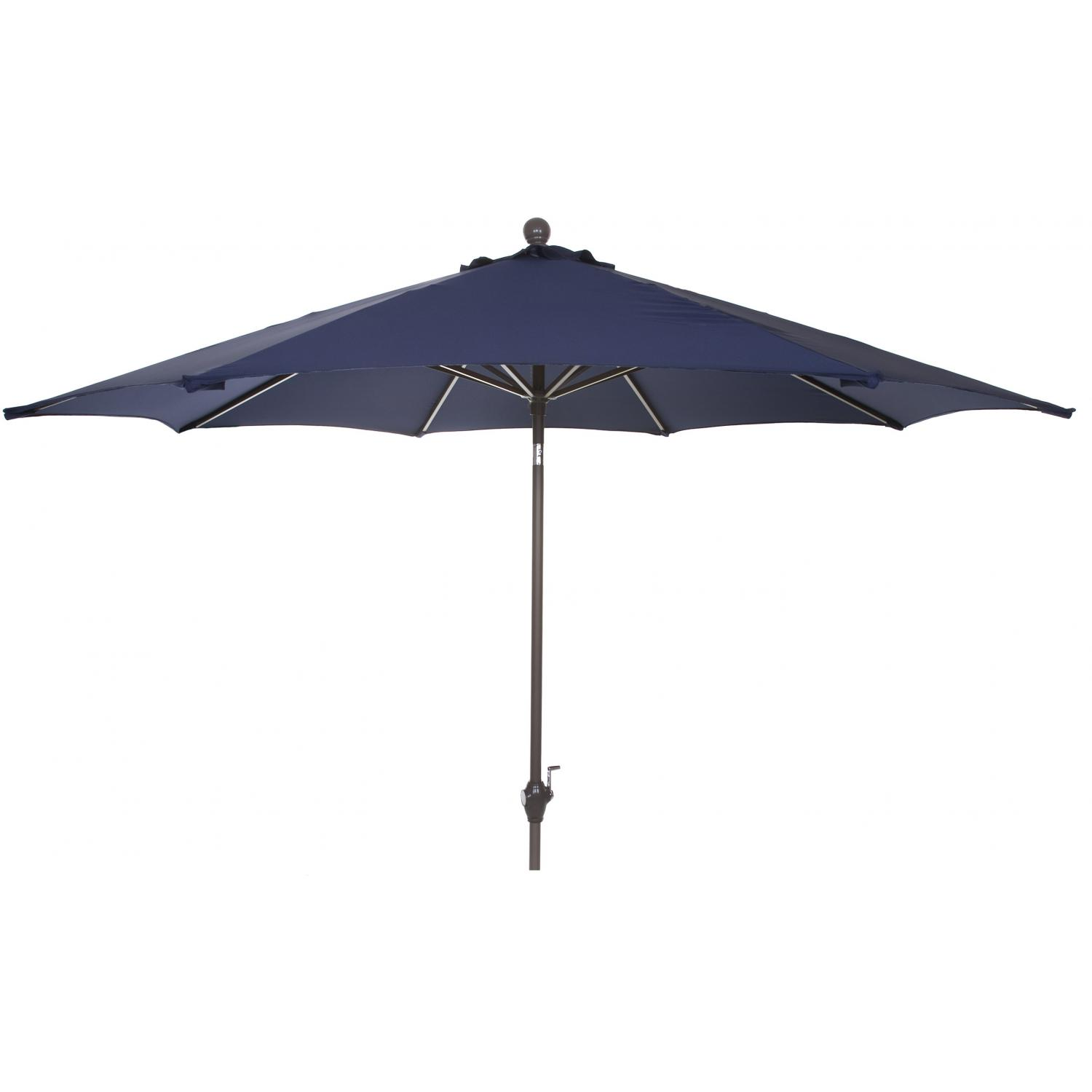 Picture of 9 Ft Aluminum Patio Umbrella - Navy Blue