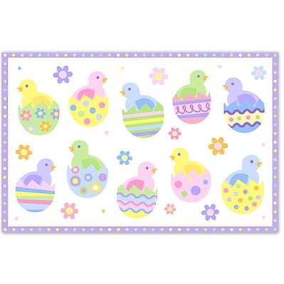 Olive Kids Laminate Placemat - Chicks