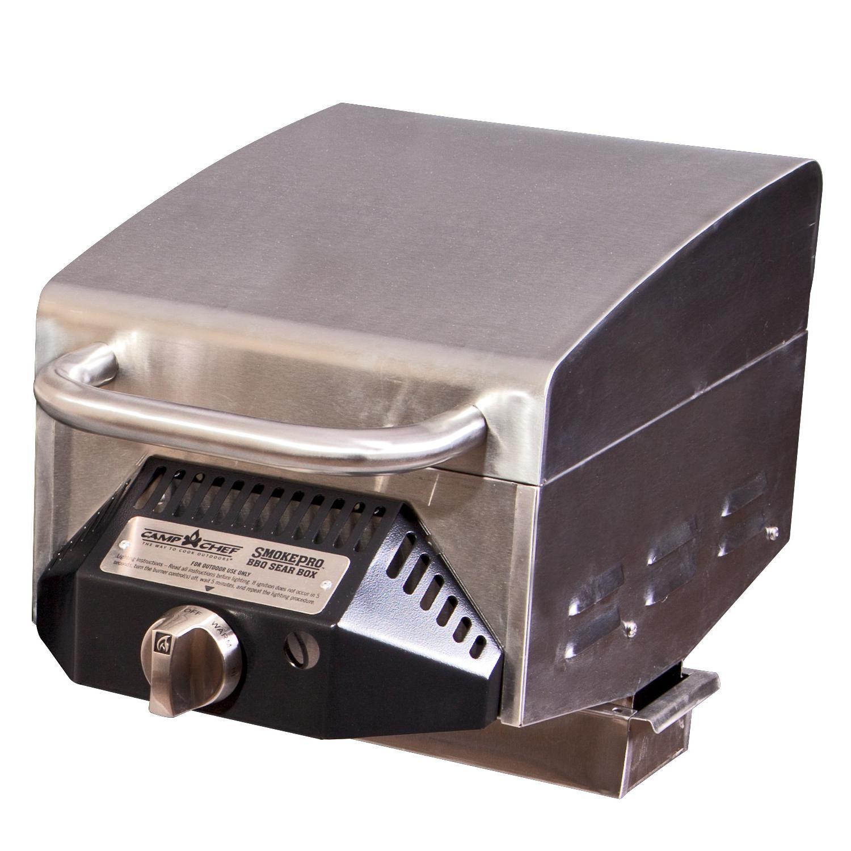 Camp Chef SmokePro BBQ Sear Box Propane Gas Side Burner -...
