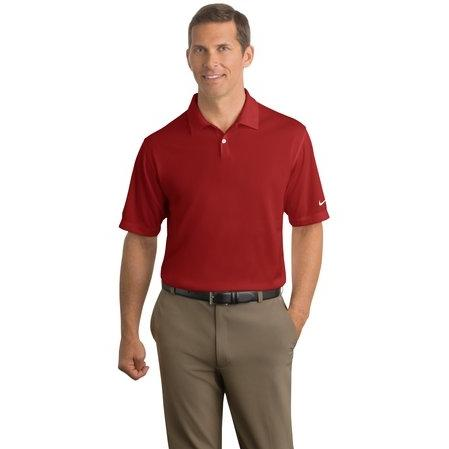 Nike Golf Dri-FIT Pebble Texture Polo Shirt Large - Varsity Red 2671188