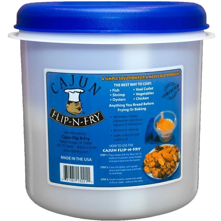 Cajun Flip-n-fry 1.25 Gallon Breader