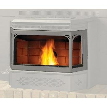 Napoleon GS3281SS Pellet Stove Door - Satin Chrome