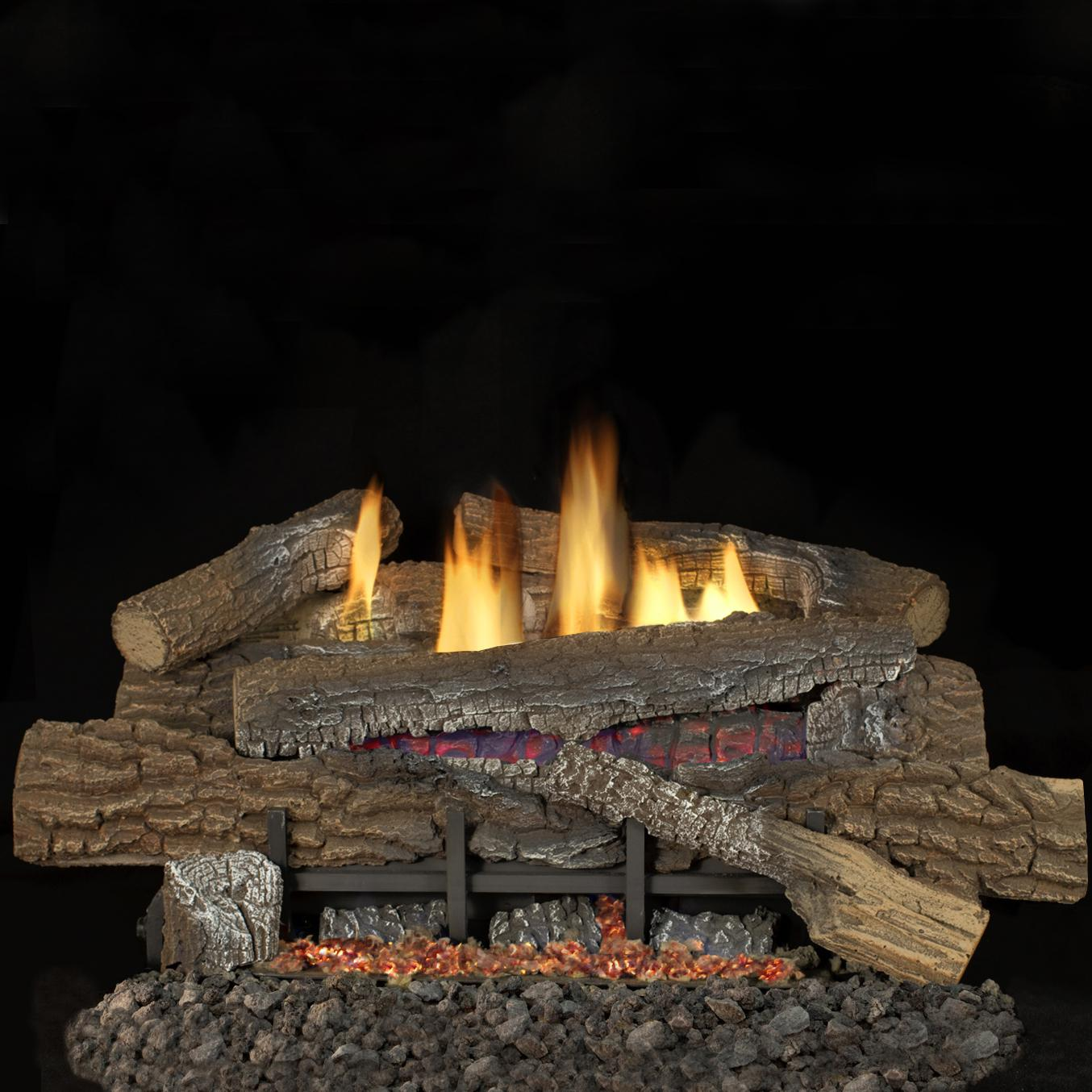 shop cedar ridge hearth 29 1 8 sienna vent free gas. shop cedar ...