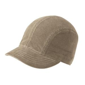 New Era Ladies Corduroy Short Bill Cap - Sand/Ivory
