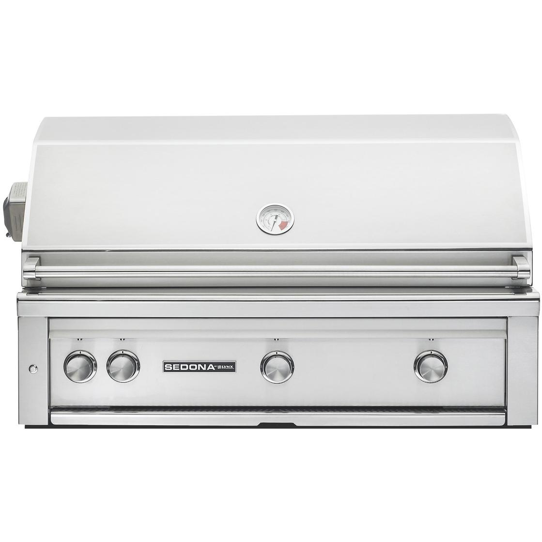 Sedona By Lynx 42-Inch Built-In Natural Gas Grill With ProSear Burner And Rotisserie L700PSR 2880864