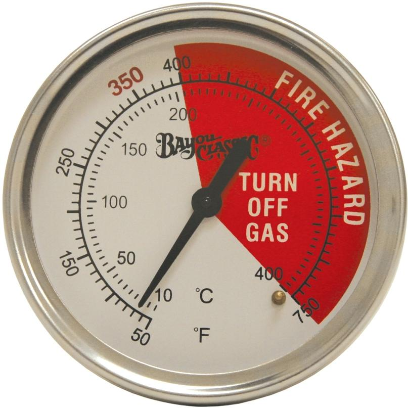 Bayou Classic Thermometers 3 Inch Bayou Fryer Thermometer