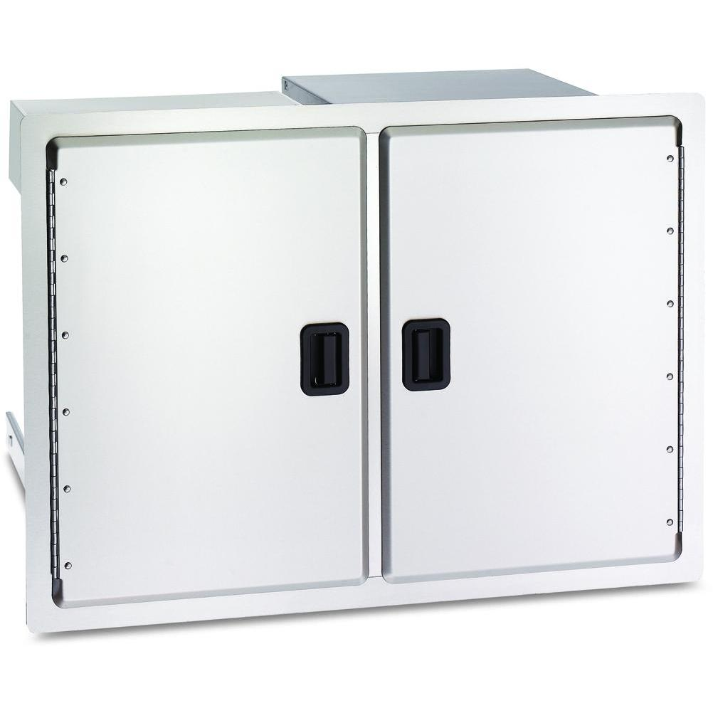 Fire Magic Legacy 30 Inch Stainless Double Access Door With Drawers And Trash Bin Storage at Sears.com