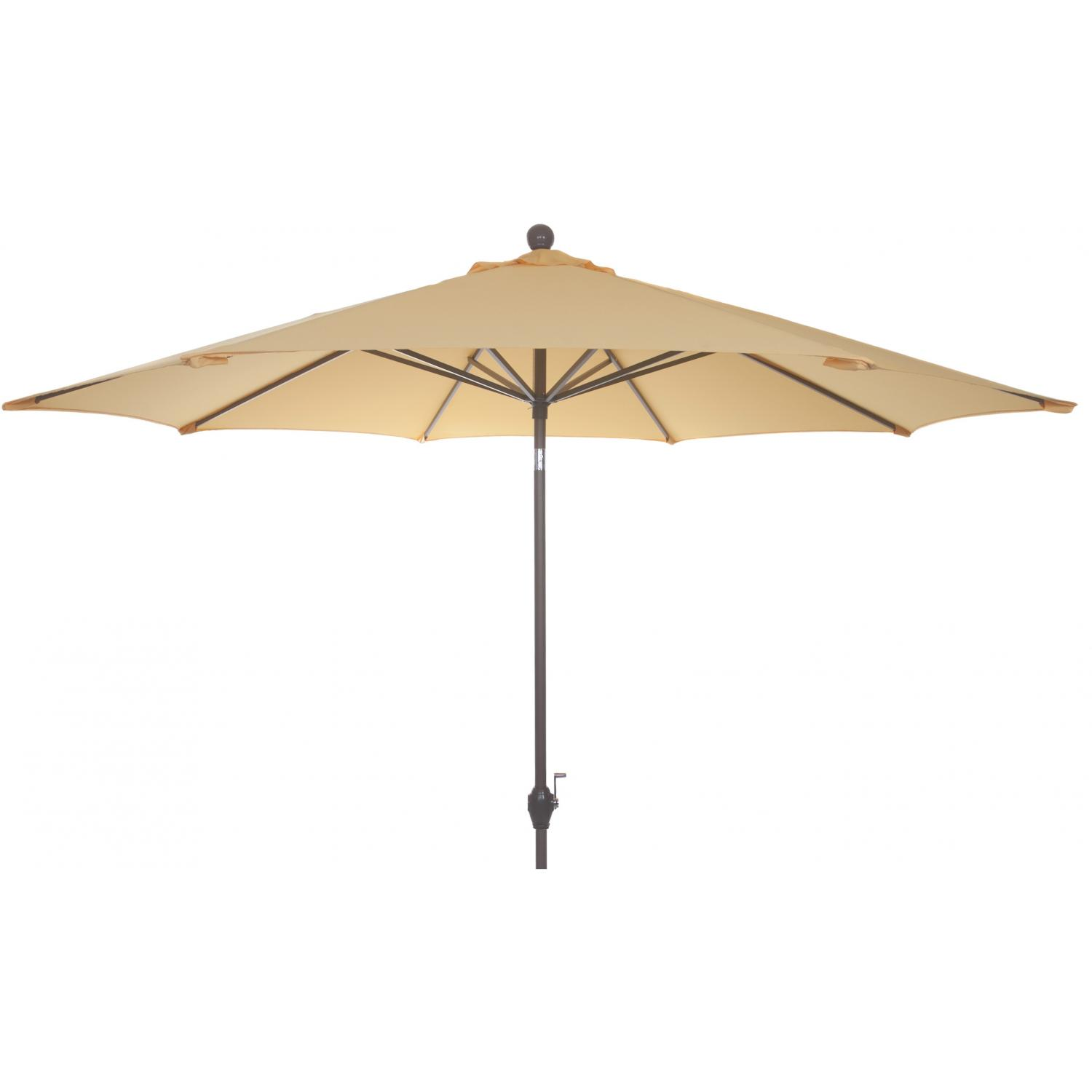 Picture of 9 Ft Aluminum Patio Umbrella - Yellow
