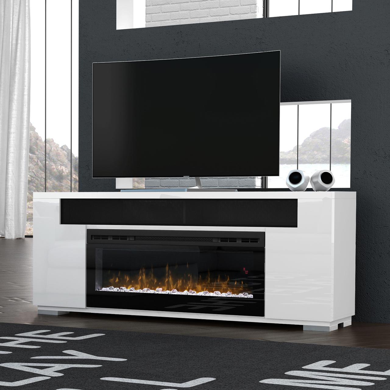 Dimplex Prism Haley 76-Inch Electric Fireplace Media Cons...