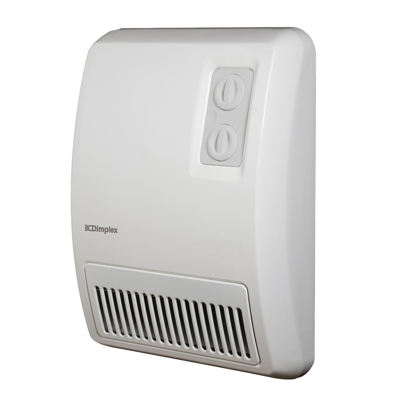 Dimplex 12-Inch Deluxe Wall Mounted Fan Forced Heater - W...