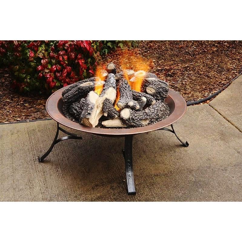 Firegear Vesta 30-Inch Portable Outdoor Propane Gas Fire Pit