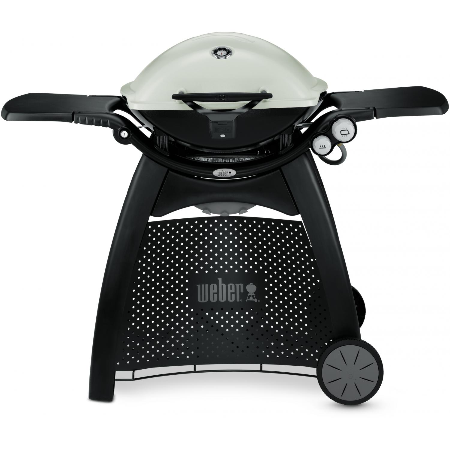 sales for weber q 3200 propane gas grill on cart titanium prices price llhowrll. Black Bedroom Furniture Sets. Home Design Ideas