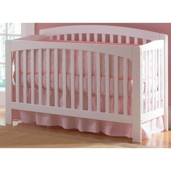 Atlantic Furniture 4003230 Richmond Crib / Full Bed White