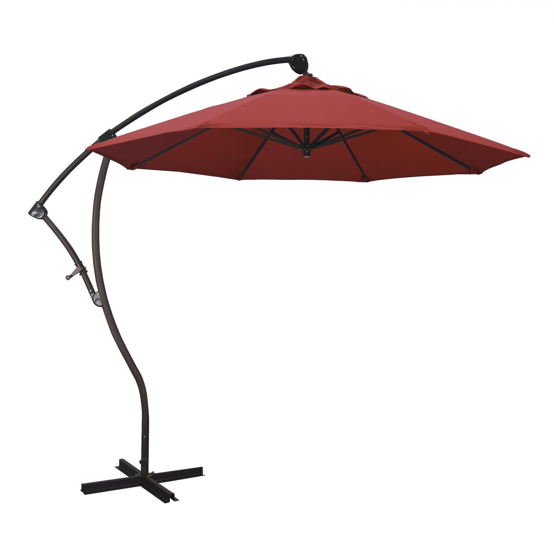 California Umbrella 9 Ft Octagonal Aluminum 2-Way Tilt Ca...