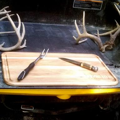 Bed Wood EZ 26-Inch Butcher Block For ATV And Off Road Vehicles