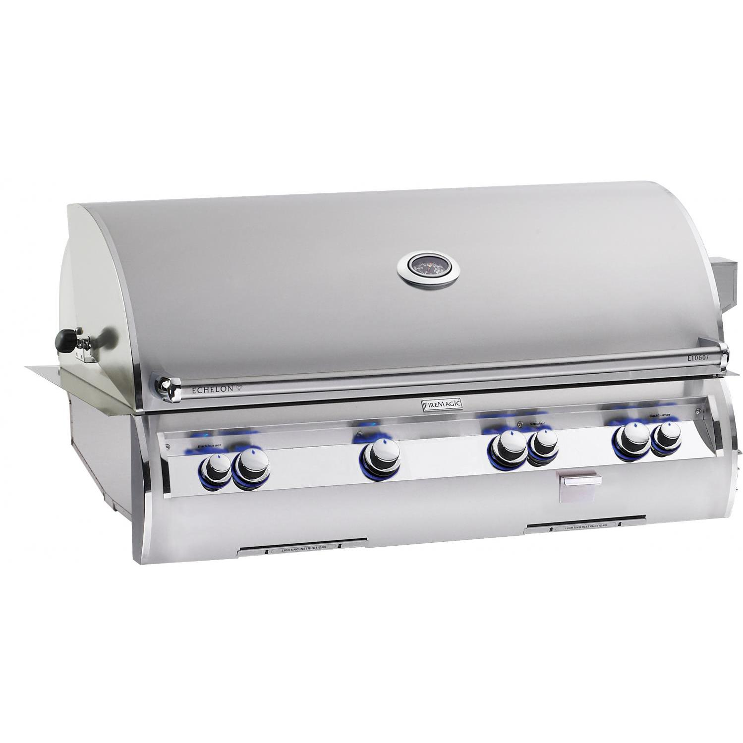 Fire Magic Echelon Diamond E1060i A Series Natural Gas Built-In Grill With One Infrared Burner 2879094