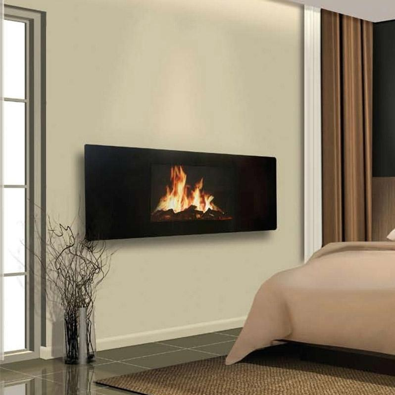 Celsi GL2029USP Panoramic Electric Wall Mount Fireplace With Heater