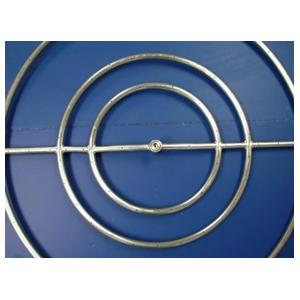 HPC 30 Inch Natural Gas Stainless Steel High Capacity Fire Pit Ring