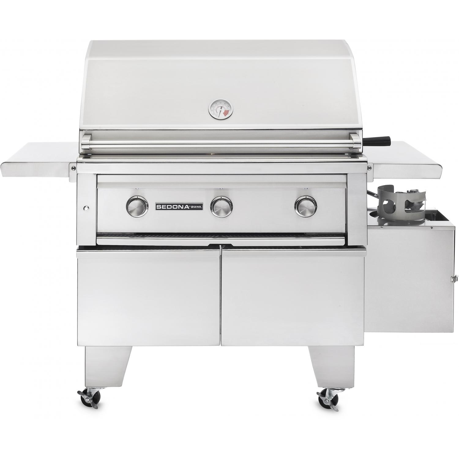Sedona By Lynx ADA 36-Inch Propane Gas Grill On Cart With ProSear Burner And Rotisserie L600ADAR 2879416