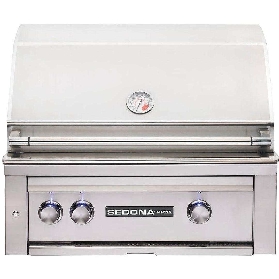 Lynx Sedona By Lynx 30-inch Built-in Natural Gas Grill With Prosear Burner And Rotisserie L500psr-ng at Sears.com