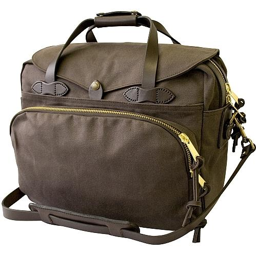 Filson Padded Laptop Bag/Briefcase Brown