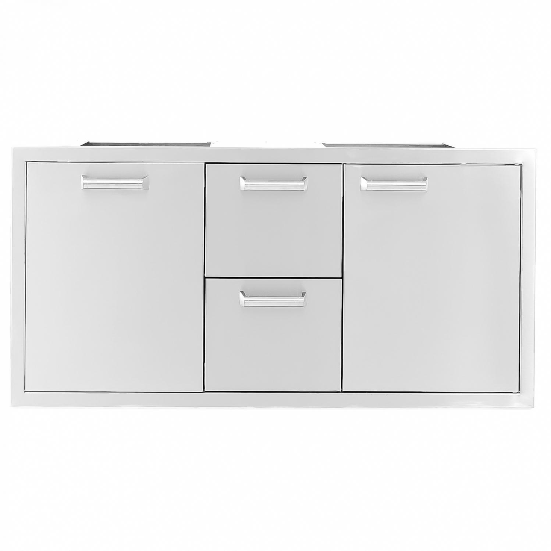 BBQGuys.com Sonoma Series 42-Inch Stainless Steel Door, D...