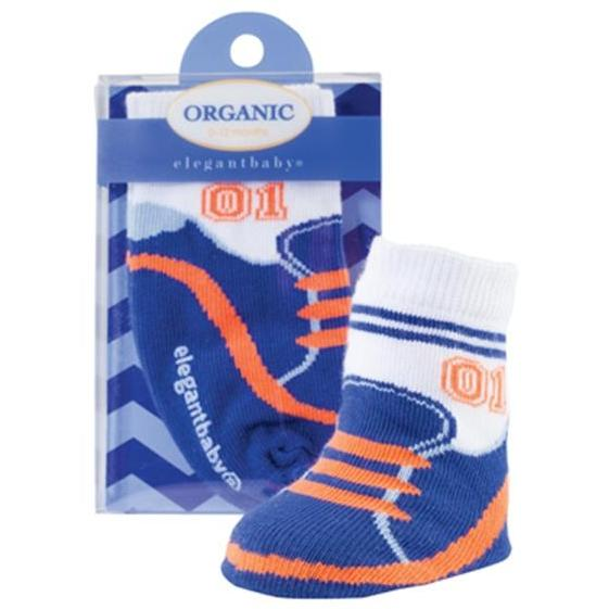 Elegant Baby Organic 1-Pair Sock Set - Star Athlete