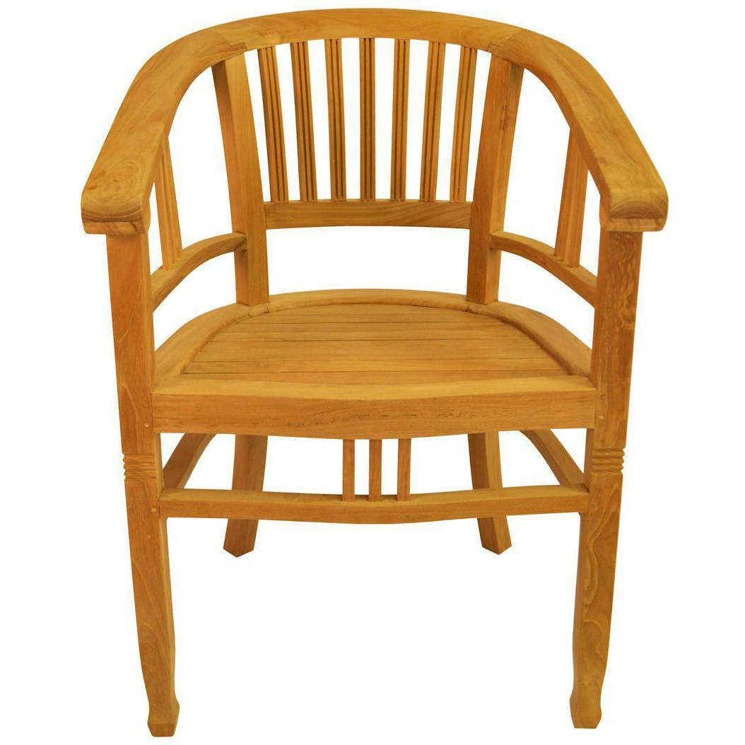 Anderson teak captains patio dining arm chair ebay